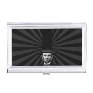 Abraham Lincoln Presidential Fashion Statement Business Card Holders