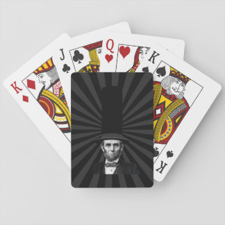 Abraham Lincoln Presidential Fashion Statement Playing Cards