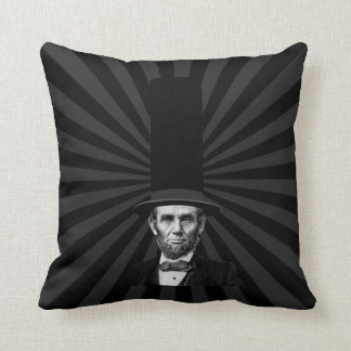 Abraham Lincoln Presidential Fashion Statement Throw Pillow