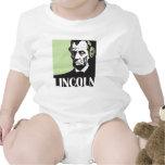 Abraham Lincoln que escucha la música Camiseta