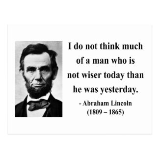 Abraham Lincoln Quote 17b Postcards