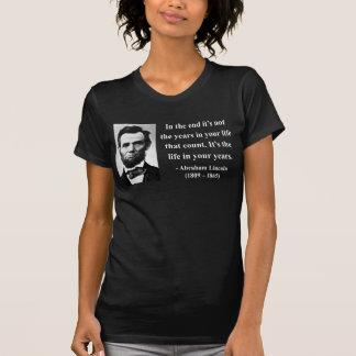 Abraham Lincoln Quote 2b T-Shirt