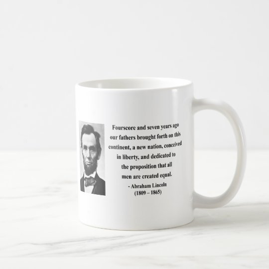 Abraham Lincoln Quote 5b Coffee Mug