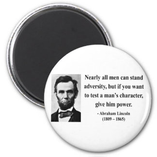 Abraham Lincoln Quote 6b 2 Inch Round Magnet