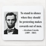 Abraham Lincoln Quote 8b Mouse Pads