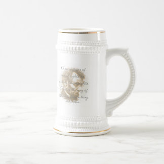 Abraham Lincoln Quote Beer Stein