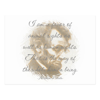 Abraham Lincoln Quote Postcards