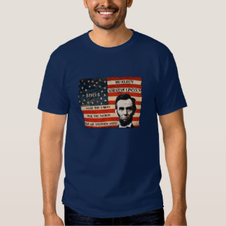 Abraham Lincoln Re-election Campaign Men's T-Shirt