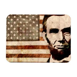 Abraham Lincoln Rectangular Magnet