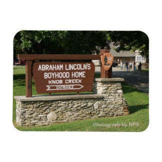 Abraham Lincoln s Boyhood Home Magnet Vinyl Magnet
