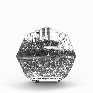 Abraham Lincoln second inaugural address Washingto Award