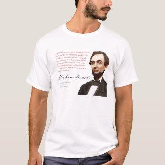 "Abraham Lincoln Shirt #1 ""Transmit Unimpaired"""