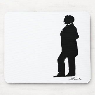 Abraham Lincoln Silhouette Mousepad