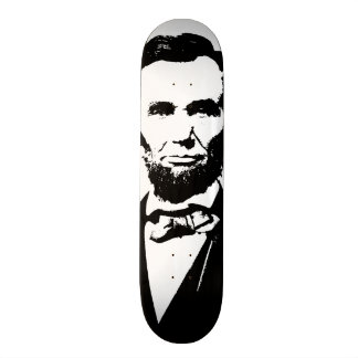 Abraham Lincoln Skateboard Deck