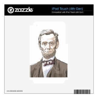 Abraham Lincoln Skin For iPod Touch 4G