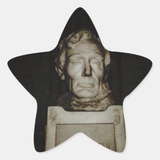 Abraham Lincoln Star Sticker