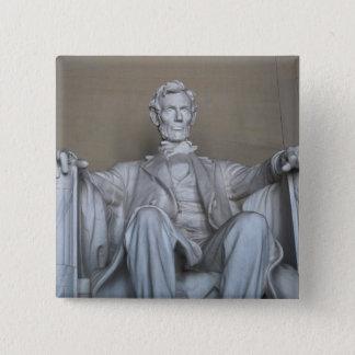 Abraham Lincoln statue Button
