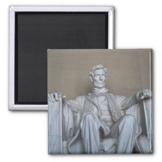 Abraham Lincoln statue Magnet