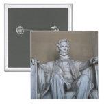 Abraham Lincoln statue Pin