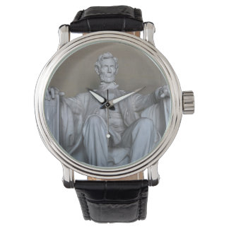 Abraham Lincoln statue Wristwatch