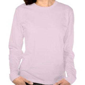 Abraham Lincoln T-Shirt -- Long Sleeved -- Pink