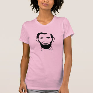 Abraham Lincoln T-Shirt  (Pink -- Ladies)