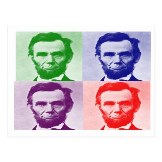 Abraham Lincoln T-Shirts & Gifts Postcard