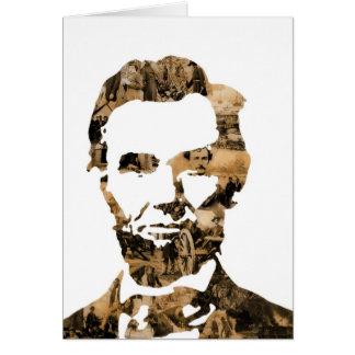 Abraham Lincoln Tarjeta