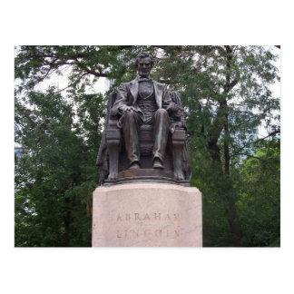 Abraham Lincoln Tarjeta Postal