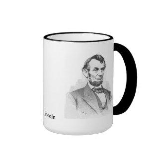 Abraham Lincoln Tazas De Café