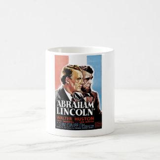 Abraham Lincoln Taza Básica Blanca