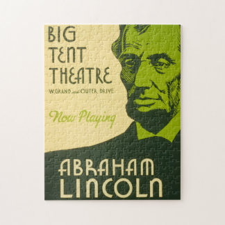 Abraham Lincoln The Great Commoner Jigsaw Puzzle