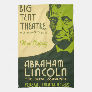Abraham Lincoln The Great Commoner Towel