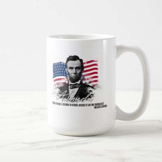 Abraham Lincoln Those Who Deny Freedom Mug