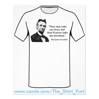 """Abraham Lincoln Troll Quote 4.5"""" X 5.6"""" Flyer"""