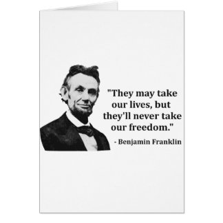 Abraham Lincoln Troll Quote Card