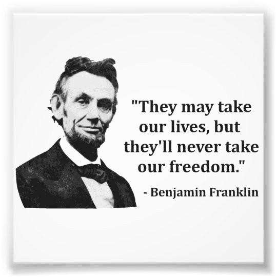 Abraham Lincoln Famous Quotes: Abraham Lincoln Troll Quote Photo Print