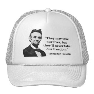 Abraham Lincoln Troll Quote Trucker Hat
