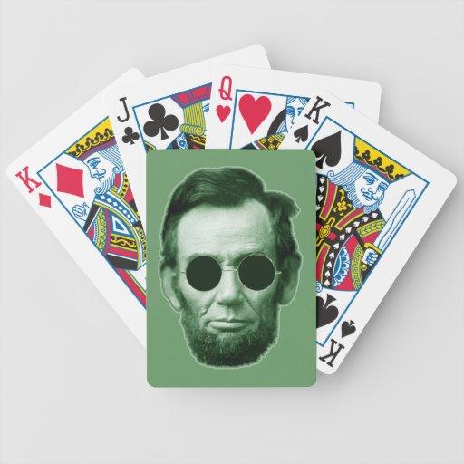 Abraham Lincoln - verde Baraja