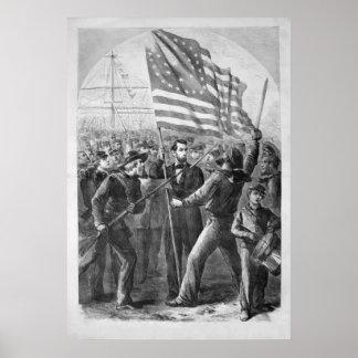 Abraham Lincoln Vintage Artwork Posters