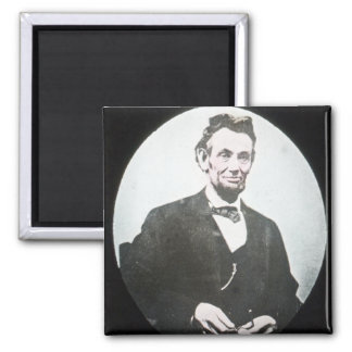 Abraham Lincoln Vintage Magic Lantern Slide Magnet