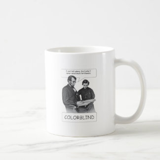Abraham Lincoln was colorblind Mug
