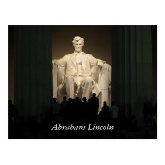 Abraham Lincoln, washington DC Post Cards