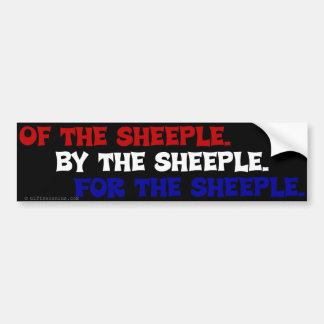 Abraham Lincoln would be ashamed of America Bumper Sticker