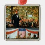 Abraham Lincoln y Stephen A. Douglas Ornamente De Reyes
