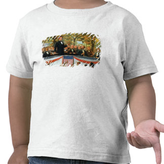 Abraham Lincoln y Stephen A. Douglas Camiseta