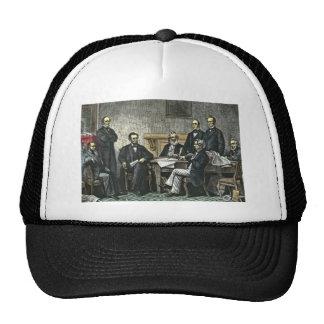 Abraham Lincoln y su gabinete Gorro