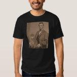 """Abraham Lincoln y su gato """"Gloria"""" 3 Playera"""