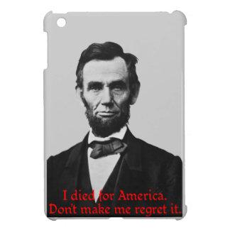 Abraham Lincoln's American Pride iPad Mini Cover