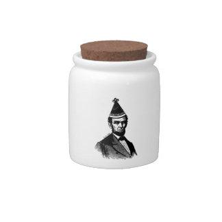 Abraham Lincoln's Birthday Bash Candy Jar